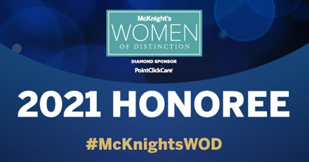 McKnight's Women of Distinction Award